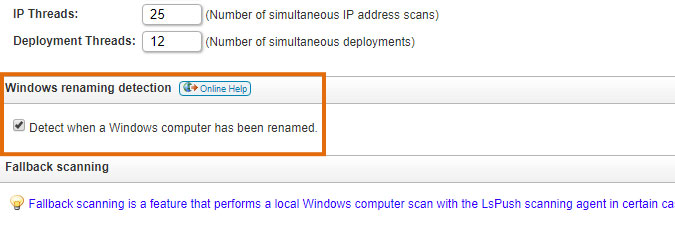 detect when a Windows computer has been renamed