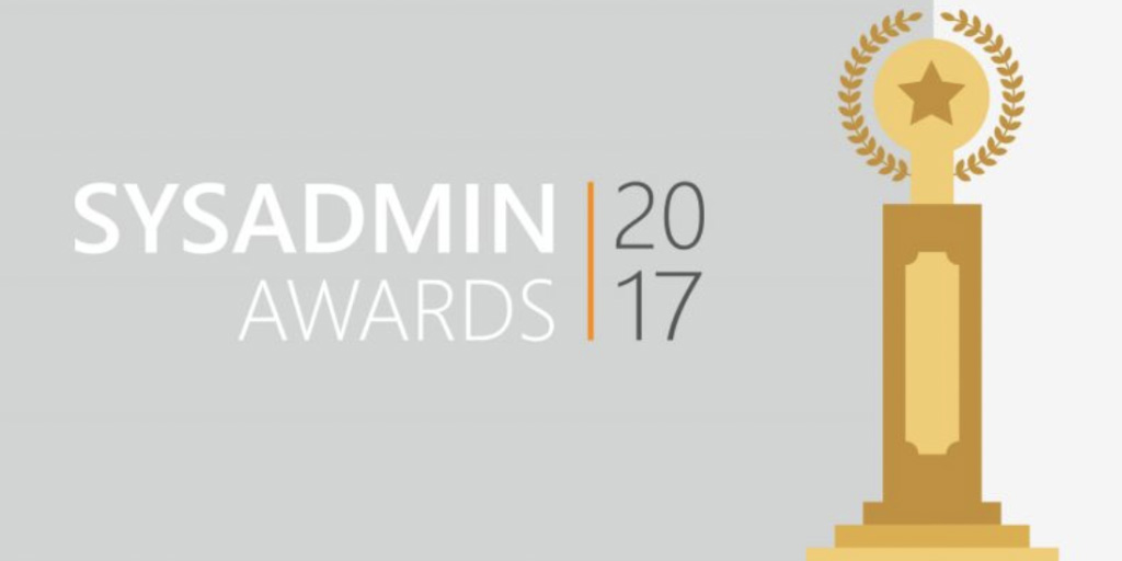 sys admin awards 2017 blog